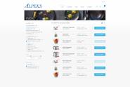 Alpeks-7B-kategorija-vrstični-pogled