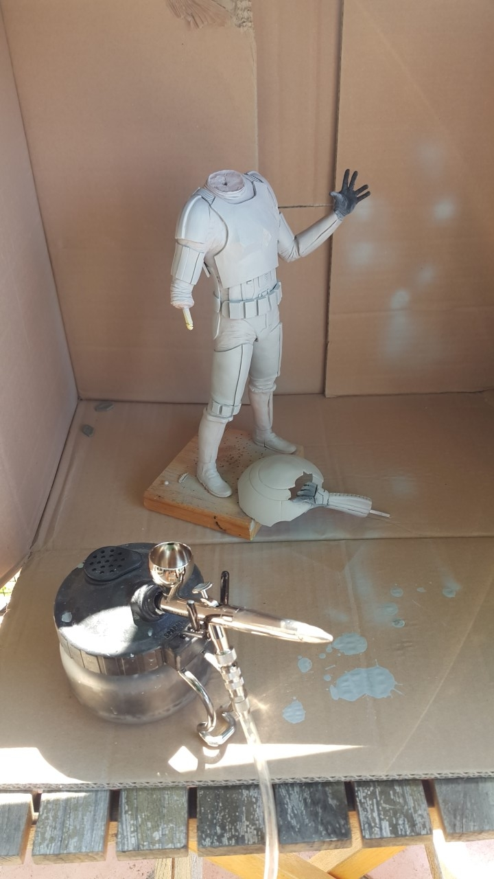 Star Wars Diorama Where Is Rey 1 6 Scale Custom