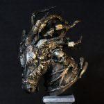 Fantasy horse sculpture